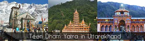 Teen dham tour operator in Haridwar